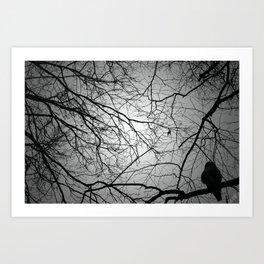 creppy vibes Art Print