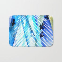 Black Birds Bath Mat