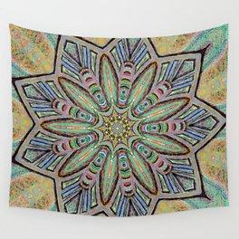 Stained Glass Window - Mandala Art Wall Tapestry