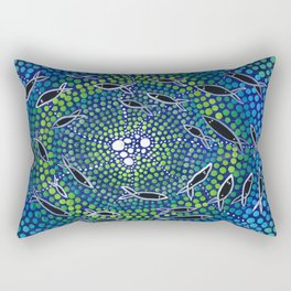 Fish - learning Rectangular Pillow