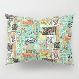 Farmer's Market Fun Pillow Sham