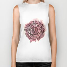 english pen rose Biker Tank