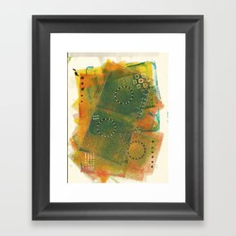 Layer Upon Layer Framed Art Print