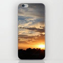 Shining Through iPhone Skin
