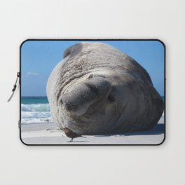 Southern Elephant Seal Laptop Sleeve