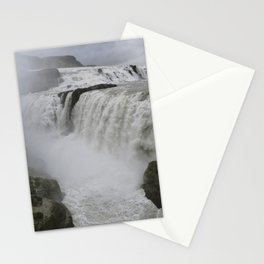 Gulfoss in Iceland Stationery Cards