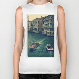 Venice, Grand Canal 3 Biker Tank