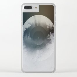 Forest lullaby Clear iPhone Case
