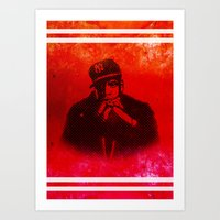 jay fleck Art Prints featuring Jay by Fimbis