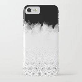 Christmas Geometric Pattern iPhone Case