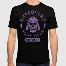 Bad Boy Club: Shredder's Foot Clan Mens Fitted Tee LARGE Black