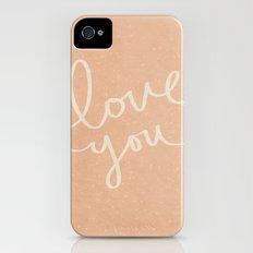 Love You iPhone (4, 4s) Slim Case