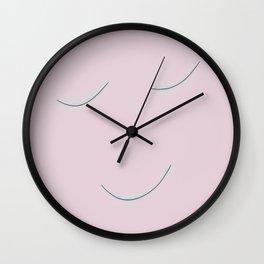 Quiet face Wall Clock