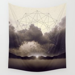 Beyond the Fog Lies Clarity   Dawn Wall Tapestry