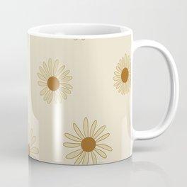60s Retro daisy pattern  Coffee Mug