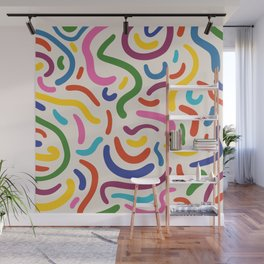 Colorful mess Wall Mural