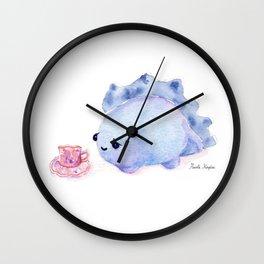 BABY STEGOSAURUS DINOSAUR Wall Clock