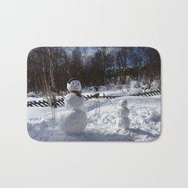 Snowmen Bath Mat