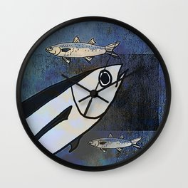 Tuna Fish and Others Wall Clock