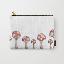 Fire Mushroom Carry-All Pouch
