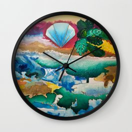 Creations of Light Reflections Wall Clock