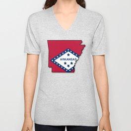 Arkansas Unisex V-Neck