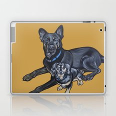 Lincoln and Zelda Laptop & iPad Skin