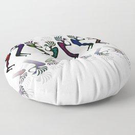 JAZZY KOKOPELLI LINE DANCE Floor Pillow