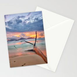 colors of seychelles Stationery Cards