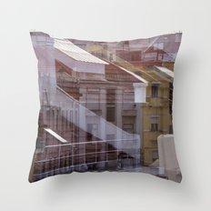 Deconstruction #21 Throw Pillow