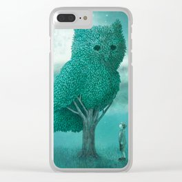 The Night Gardener - Cover Clear iPhone Case