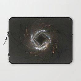 Metallic Swirl Fractal Laptop Sleeve
