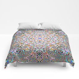 Lace And Light Lattice Skein Comforters