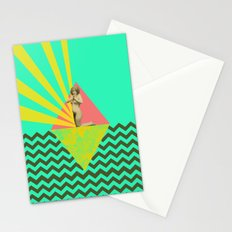 dear god, what could i wear today ?! Stationery Cards