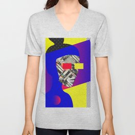 Space Portrait Unisex V-Neck