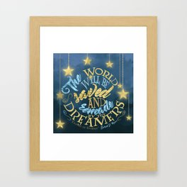 Empire of Storms - Dreamers Framed Art Print