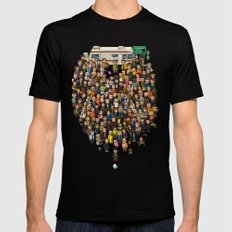 Super Breaking Bad Black Mens Fitted Tee LARGE