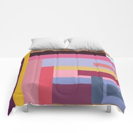 Color rods Comforters