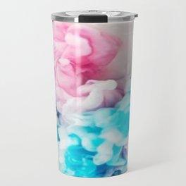 smoke paint modern design Travel Mug
