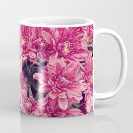 Real-Life Floral Print: Pink Coffee Mug