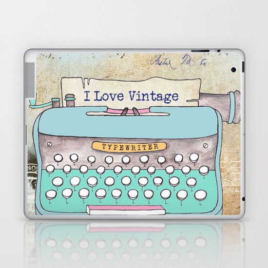 Typewriter #3 Laptop & iPad Skin