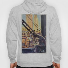 Coffee, Books and Cigarettes Hoody