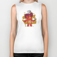 captain hook Biker Tanks featuring Captain Bear Hook by pepemaracas