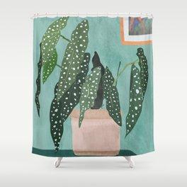 Plant 5 Shower Curtain