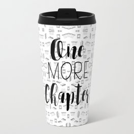 One More Chapter (Black) Travel Mug