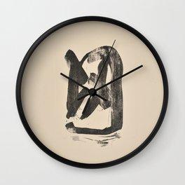 """""""LINGAM Yoni"""" Wall Clock"""