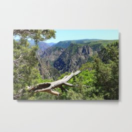 Black Canyon Of Gunnison View Metal Print