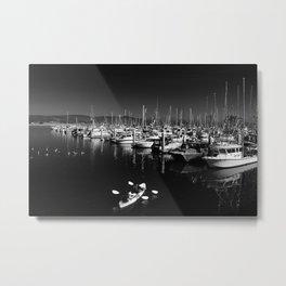 Pillar Point Harbor At Half Moon Bay California Metal Print