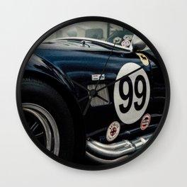 Shelby Cobra Racing Style Wall Clock