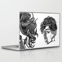 danny ivan Laptop & iPad Skins featuring Danny by Alastair Vanes